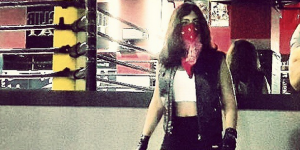 Joelle Hunter, la première catcheuse professionnelle arabe qui met KO les stéréotypes