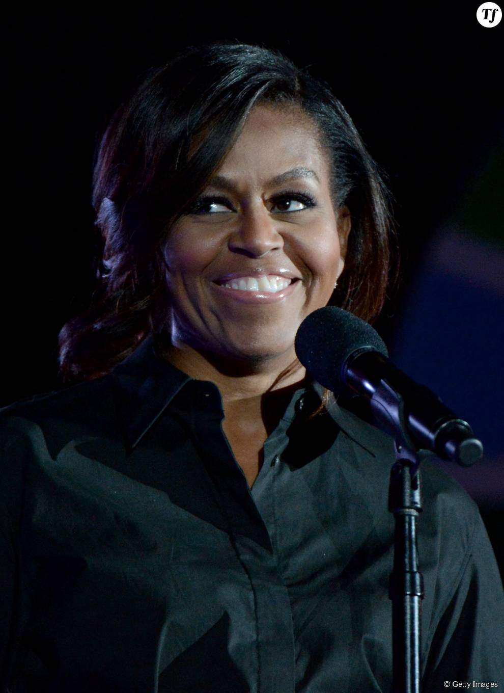 Michelle Obama lors du Global Citizen Festival