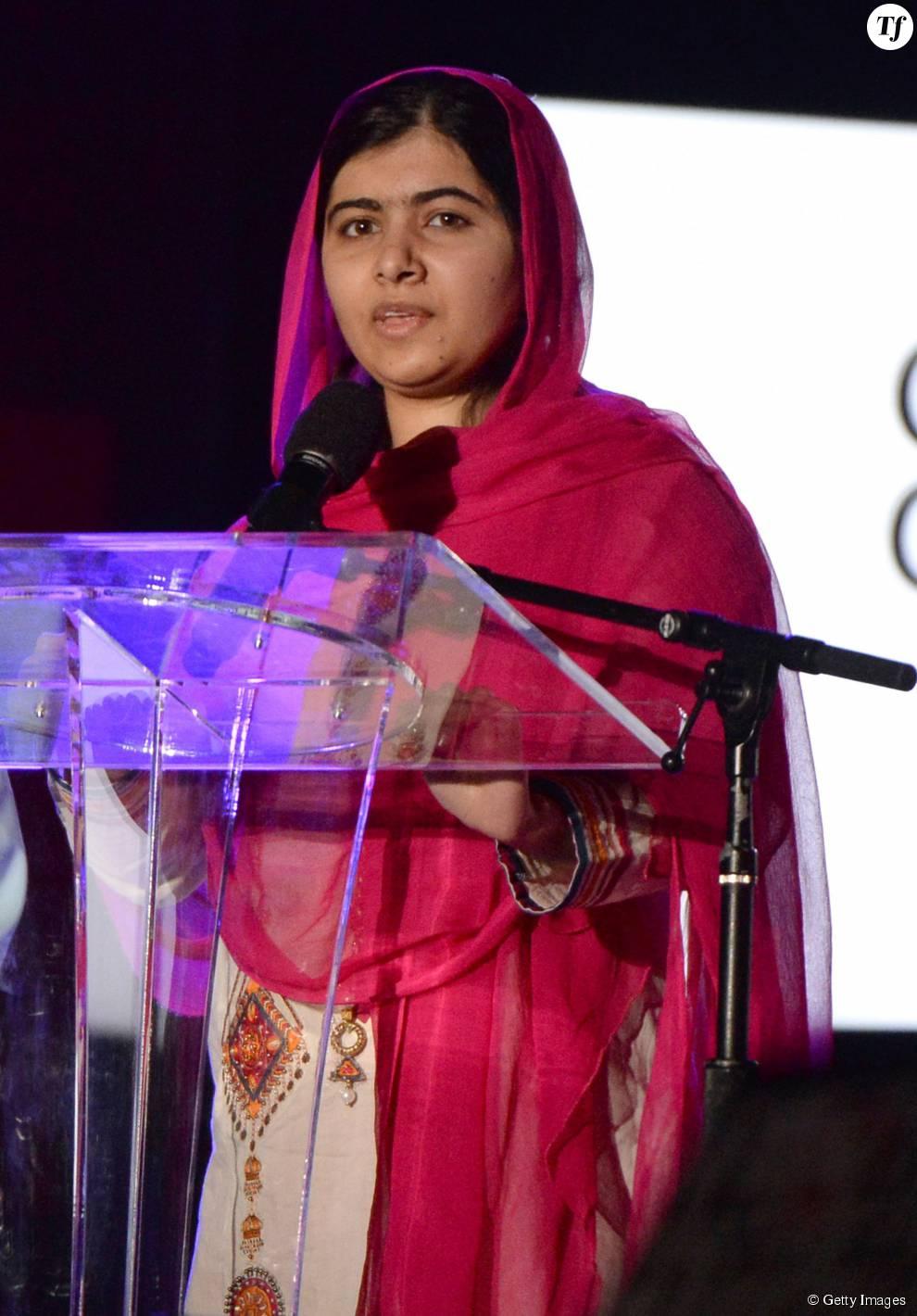 Le prix Nobel de la Paix Malala Yousafzai