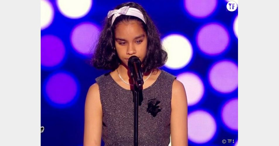 Jane, candidate non-voyante de The Voice Kids