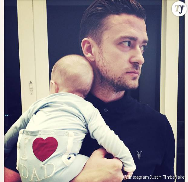 Il semble que le bébé de Justin Timberlake soit déjà fan de son papa