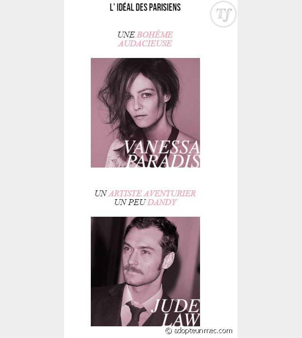Voici les célébrités correspondant le plus aux critères de séduction des parisiens