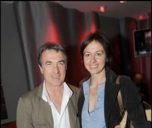 Valérie Bonneton et son ex-compagnon François Cluzet en 2009