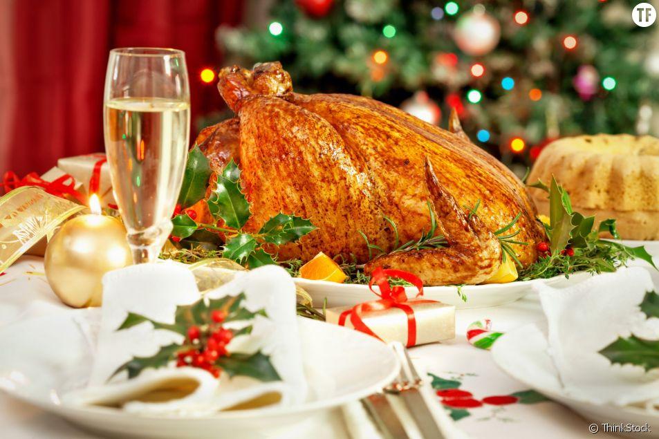 La recette et la cuisson parfaite d'une dinde de Noël
