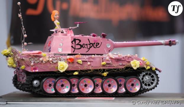 Avoir un tank ça peut aussi être girly