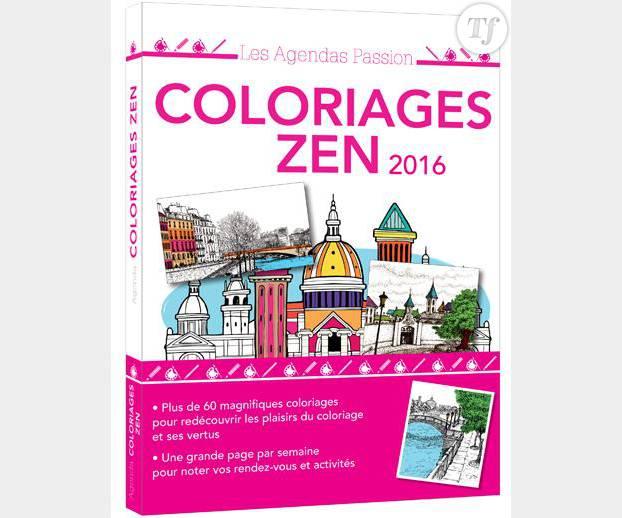 Un livre de coloriages pour adulte