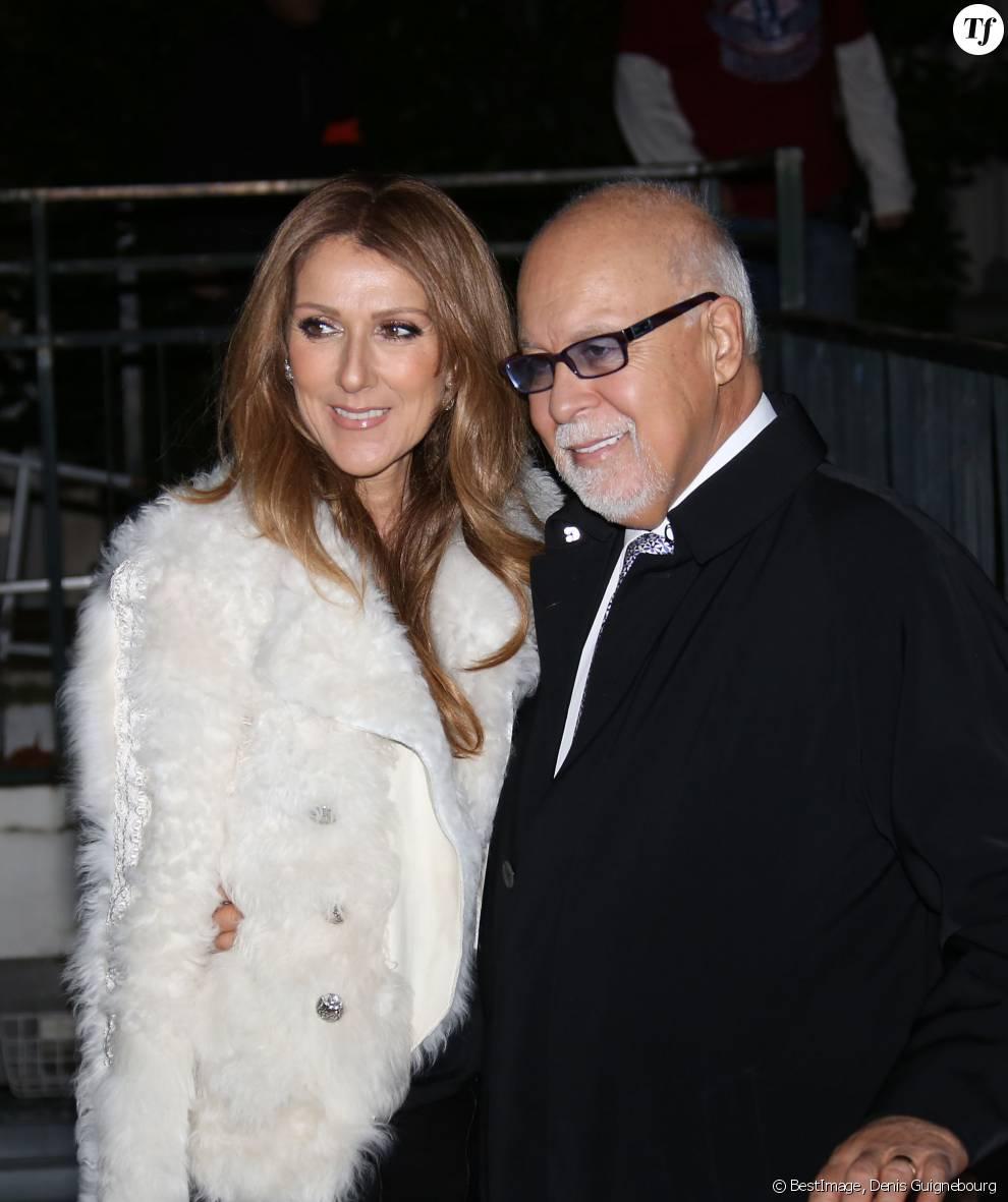 Celine Dion et son mari Rene Angelil