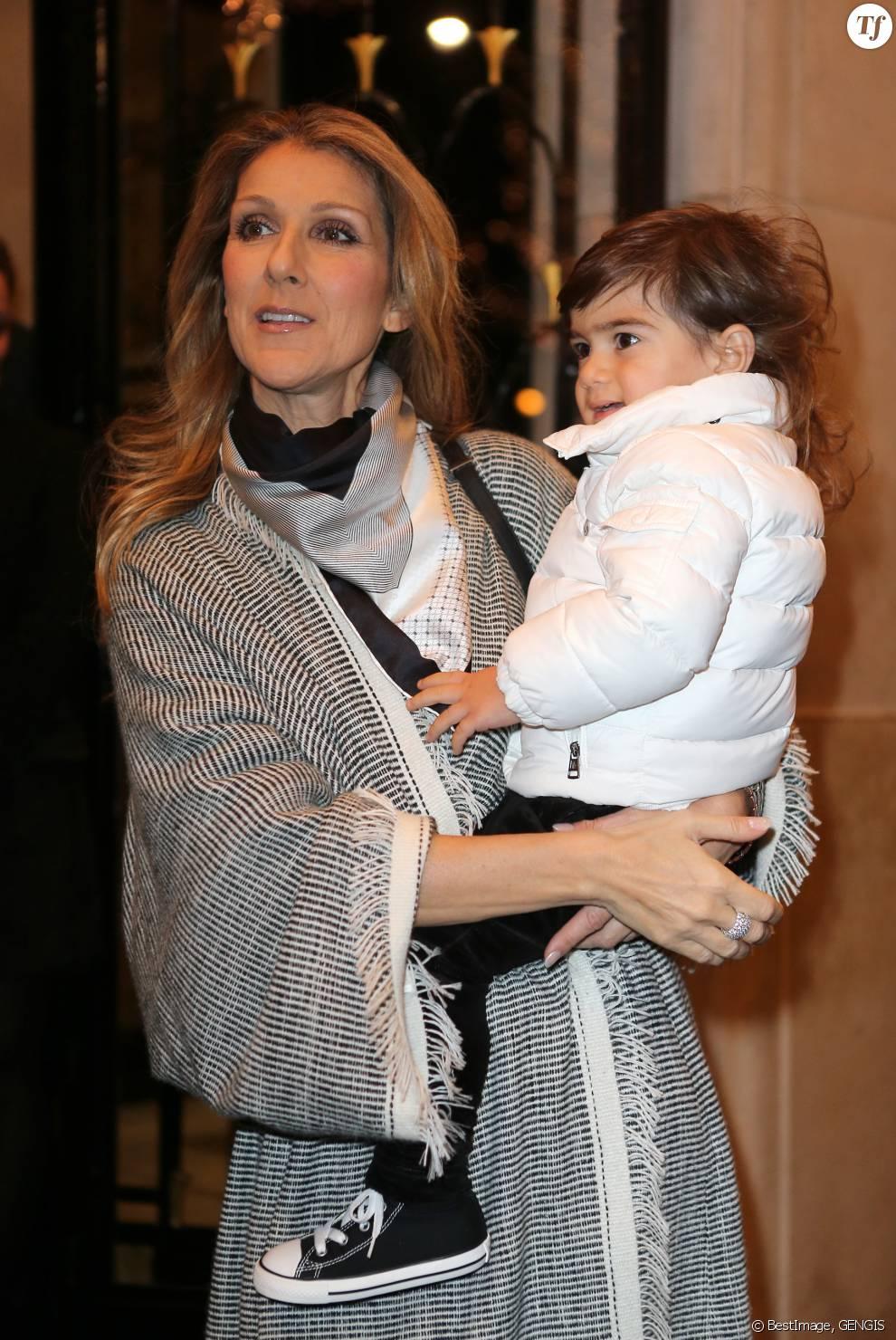 Celine Dion et son fils Eddy