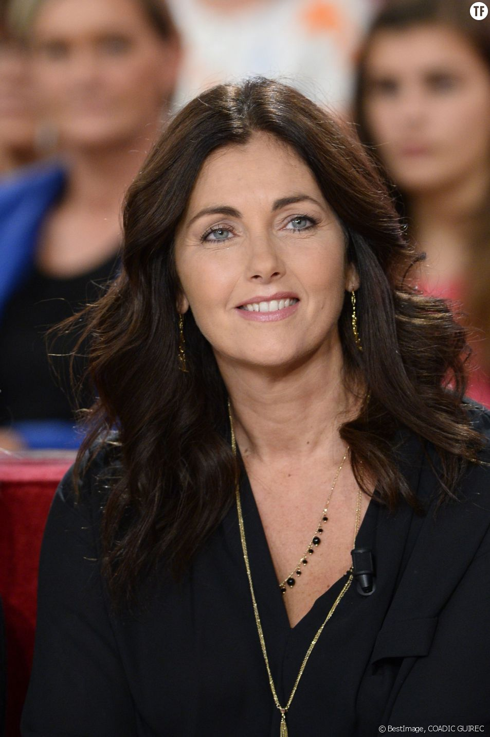 La comédienne Cristiana Reali