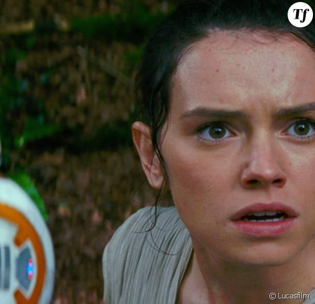 Daisy Ridley dans Star Wars 7