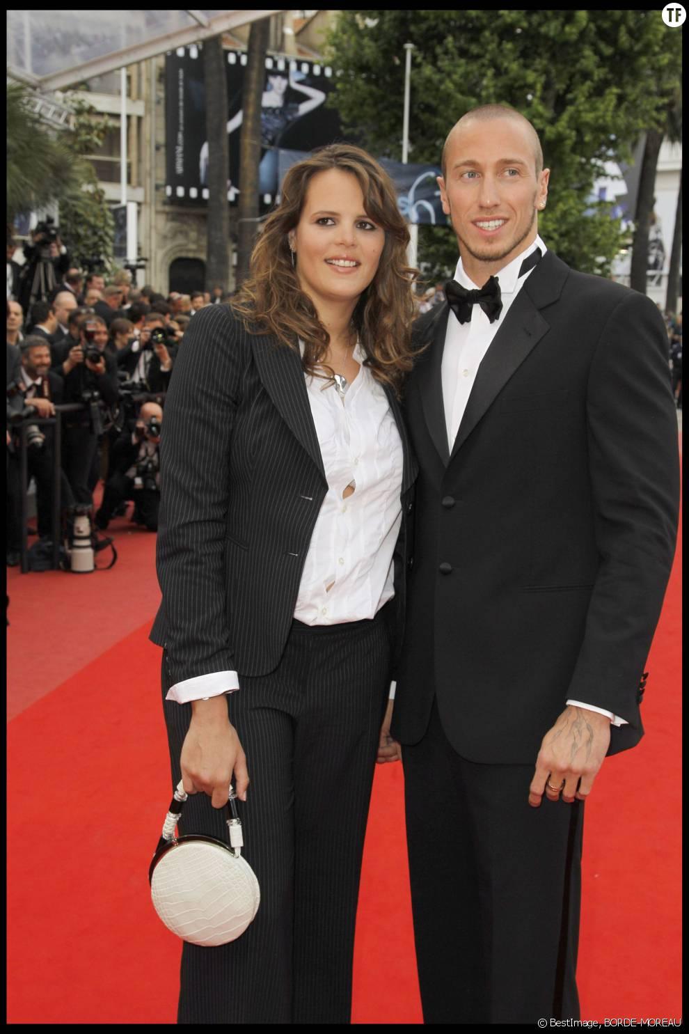 Laure Manaudou et son ex-compagnon Frédérick Bousquet en 2010