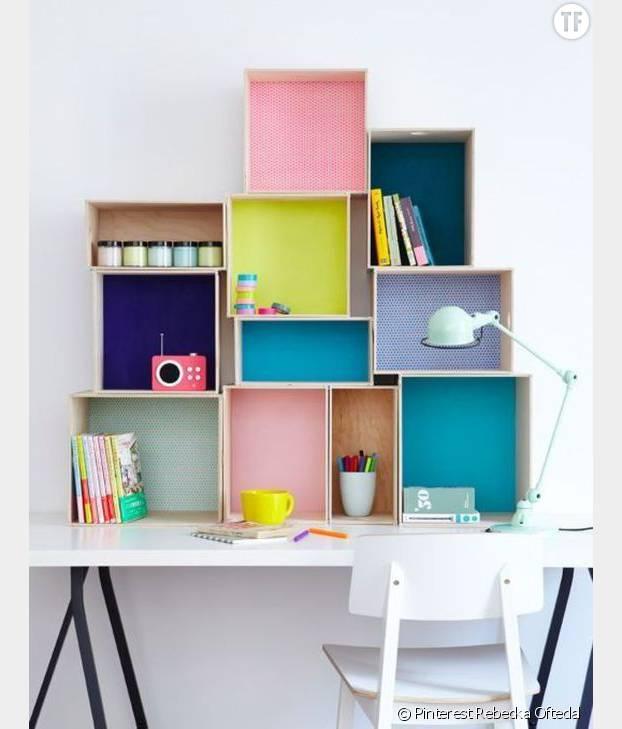 Le bureau qui ne manque pas de cases