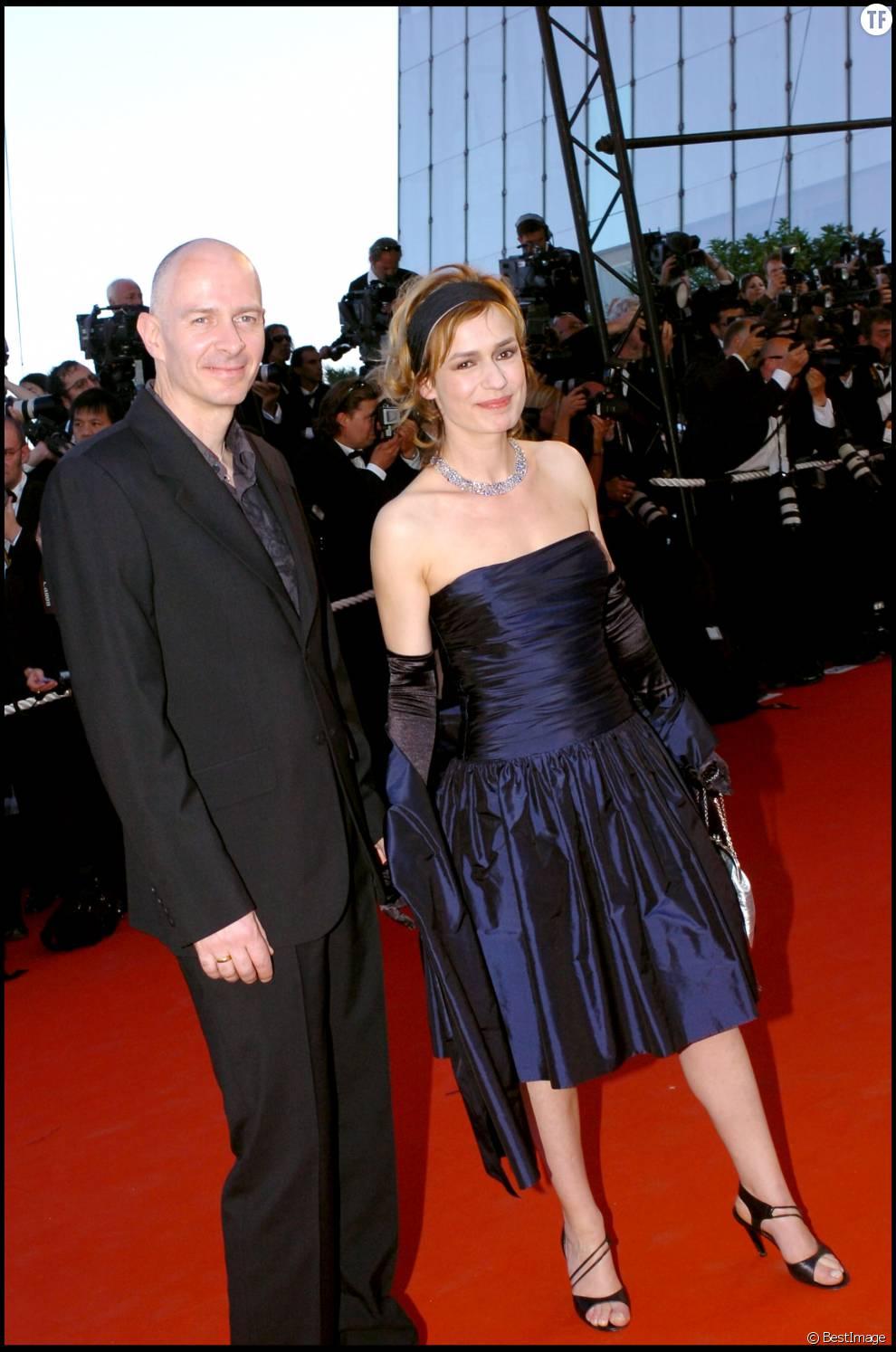 Sandrine Bonnaire et son ex-mari, Guillaume Laurant au Festival de Cannes 2006