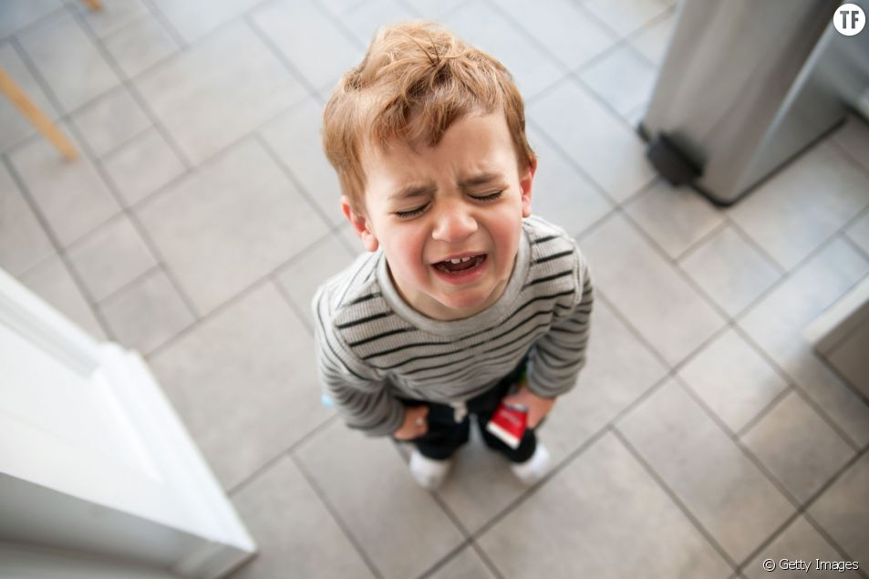 Comment calmer la crise de larmes d'un enfant ?