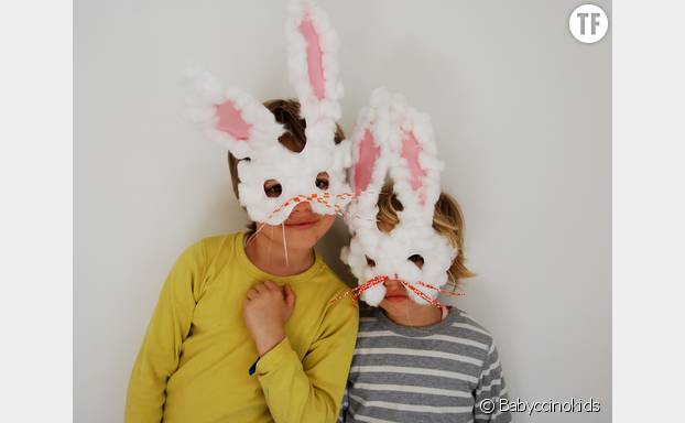 Des petits lapins de Pâques