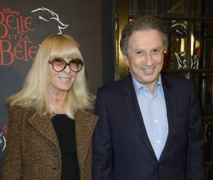 Michel Drucker et son épouse Dany Saval