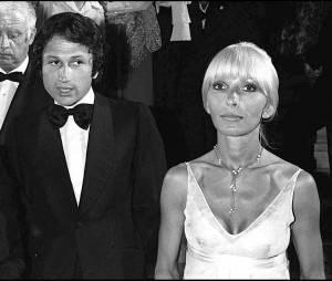Michel Drucker et sa femme Dany Saval en 1976