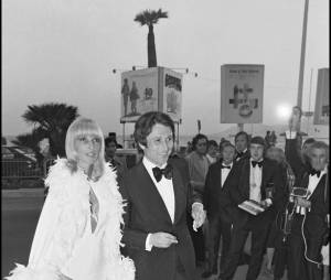 Michel Drucker et son épouse Dany Saval en 1973