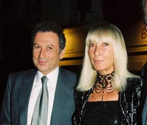 Michel Drucker et sa femme Dany Saval en 2002