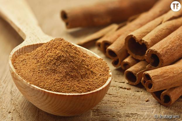 La cannelle aide à la relaxation et facilite la digestion.