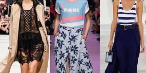 Les 10 tendances mode les plus cool du printemps-été 2016
