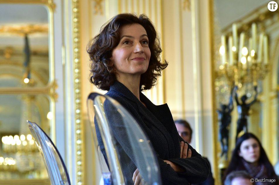 Audrey Azoulay dément avoir obtenu son poste de ministre grâce à l'appui de Julie Gayet