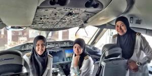 En Arabie saoudite, les femmes peuvent piloter un avion mais pas conduire une voiture