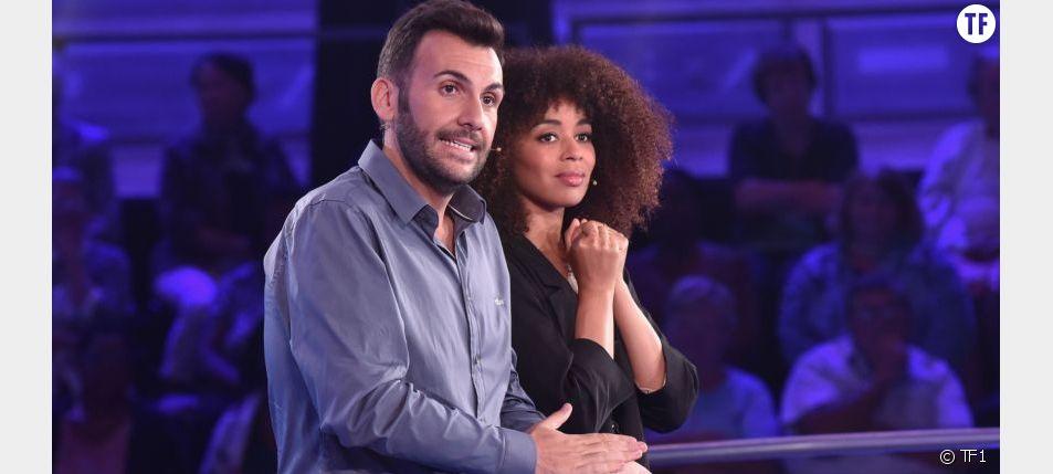 Laurent Ournac et Aurélie Konaté sur le tournage de Money Drop