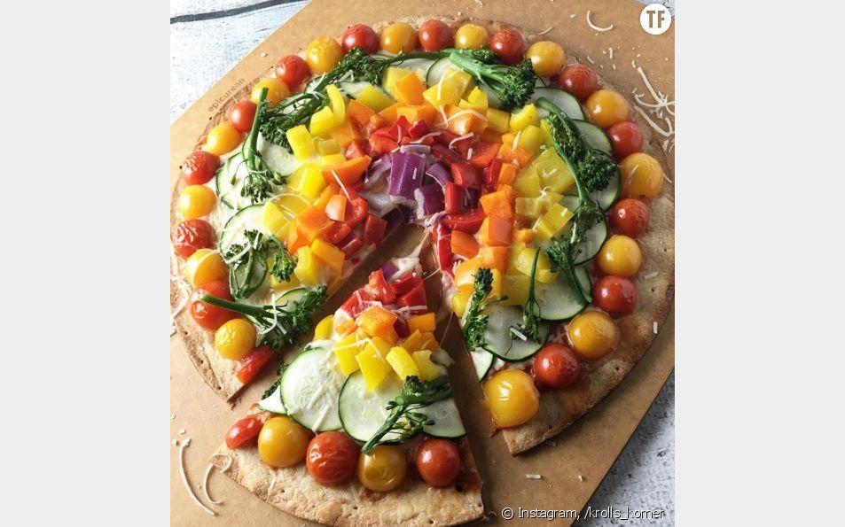 La pizza arc-en-ciel, la tendance food qui fait le buzz