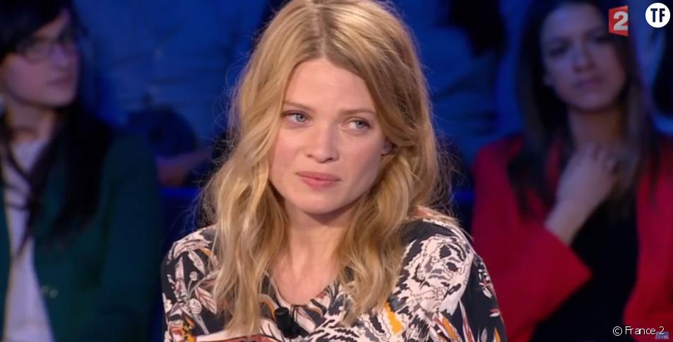 L'actrice Mélanie Thierry dans On n'est pas cocuché sur France 2