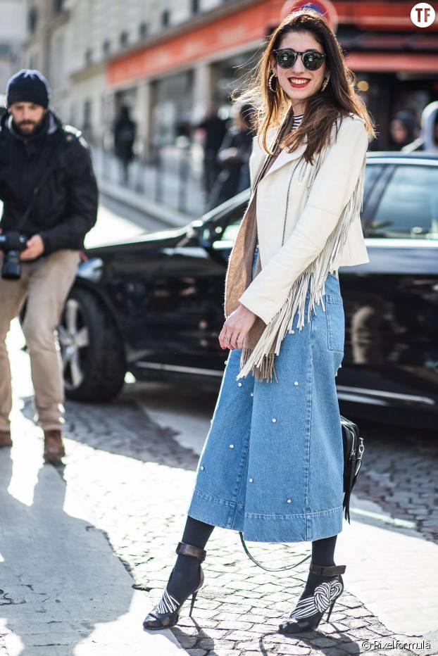 Le jean-culotte