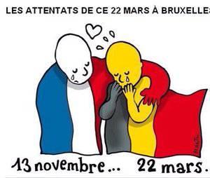 Attentats de Bruxelles : les stars du monde entier rendent hommage aux victimes