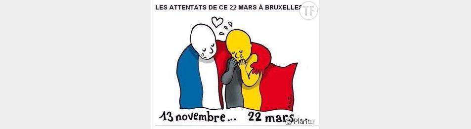 Hommages des célébrités aux attentats de Bruxelles
