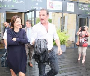 Jean Dujardin et sa compagne Nathalie Péchalat