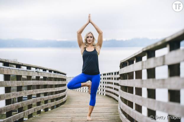 Yoga - Posture de l'arbre