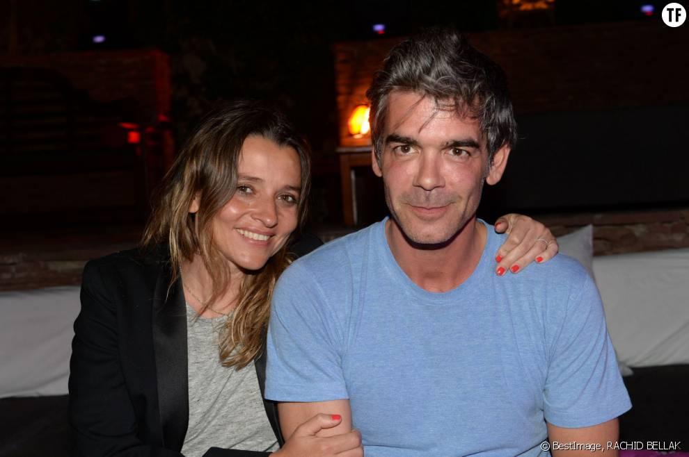 Xavier de Moulins et sa femme Anaïs Bouton