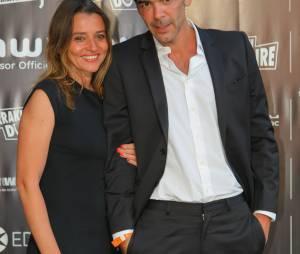 Xavier de Moulins et sa femme Anais Bouton