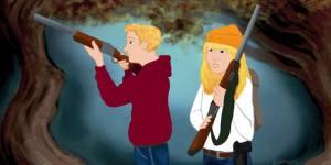Des armes à feu dans les contes de fées : quand la NRA fait sa propagande auprès des enfants