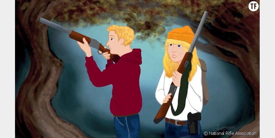 Des armes à feu dans les contes de fées : quand la NRA fait sa propagande