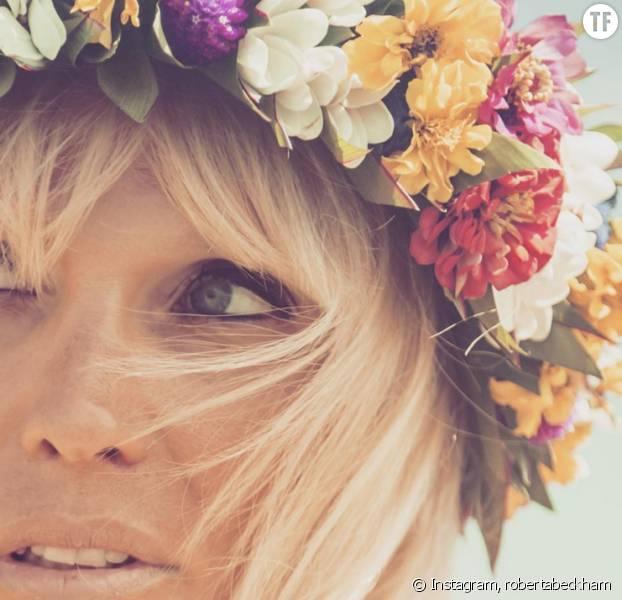 Diy comment r aliser la couronne de fleurs du printemps t 2016 - Diy couronne de fleurs ...