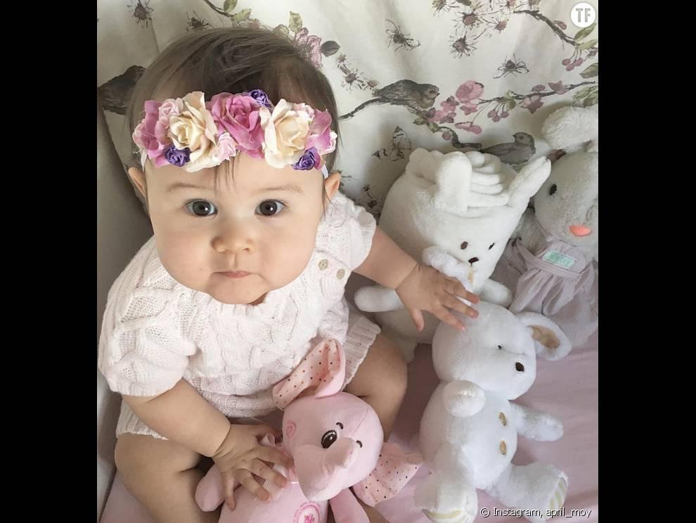 Les Bebes Aussi Portent Tres Bien La Couronne De Fleurs Terrafemina