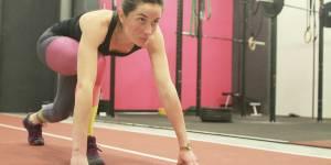 Running poussette : une Française au départ du Marathon de Paris avec sa fillette