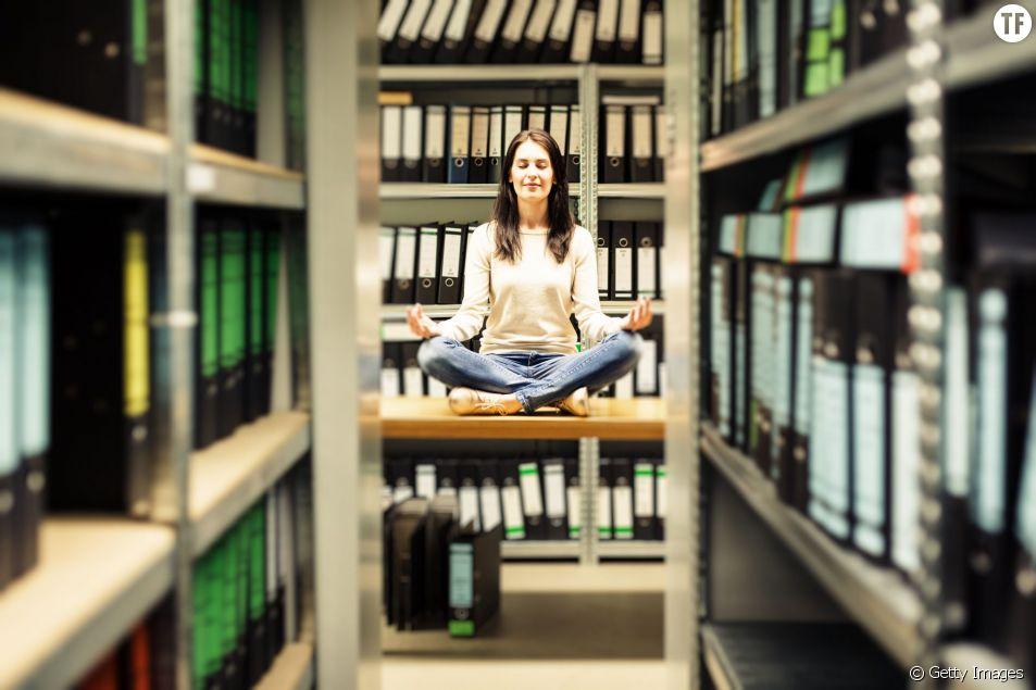Comment ne plus être stressée au travail ?