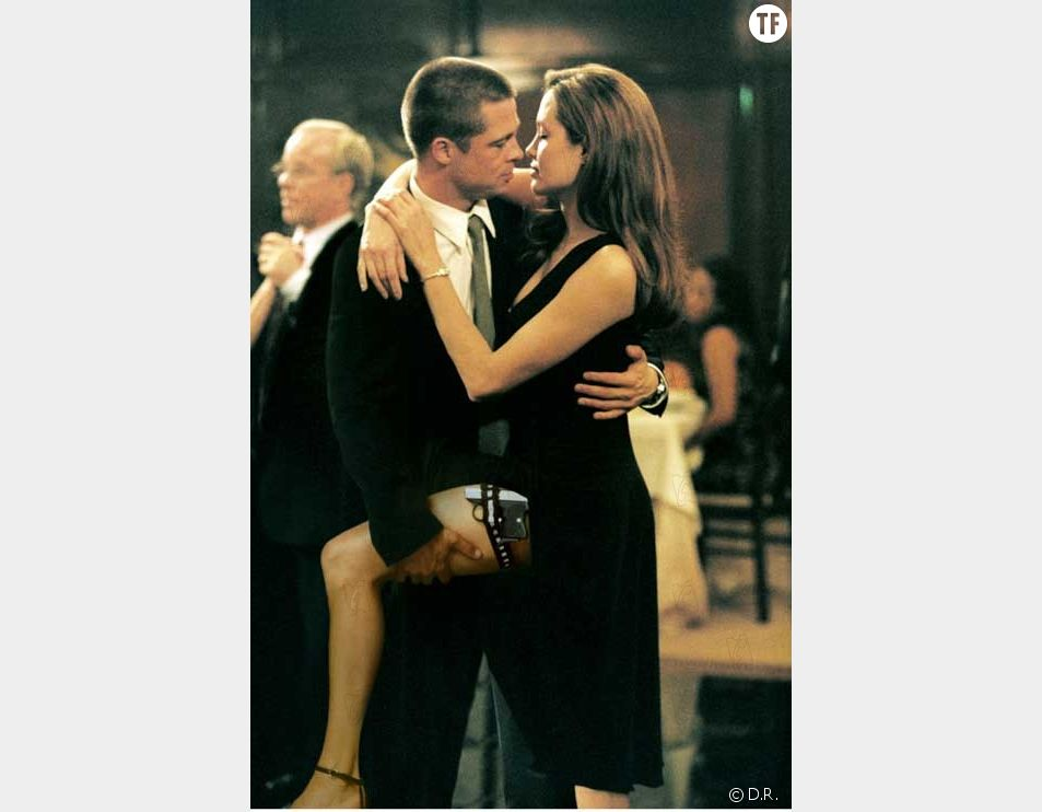 Angelina Jolie et Brad Pitt dans Mr. and Mrs. Smith