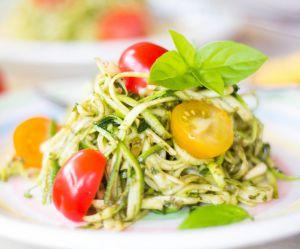 La recette facile des spaghettis de courgettes