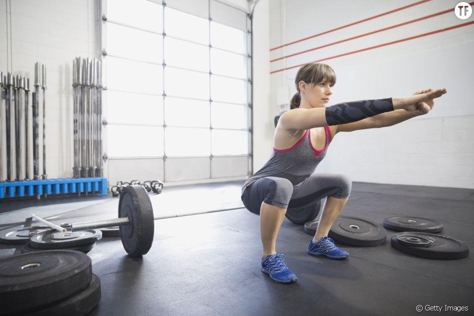 Fitness challenge : une minute de squats
