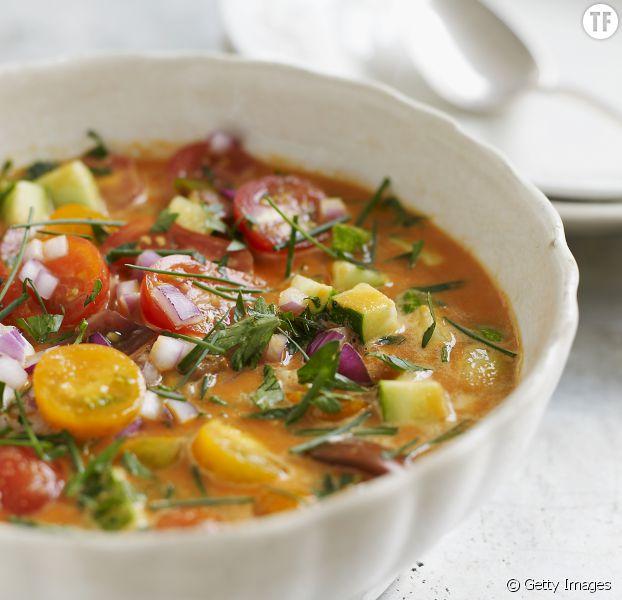 Recette : la rainbow soup (ou soupe arc-en-ciel)