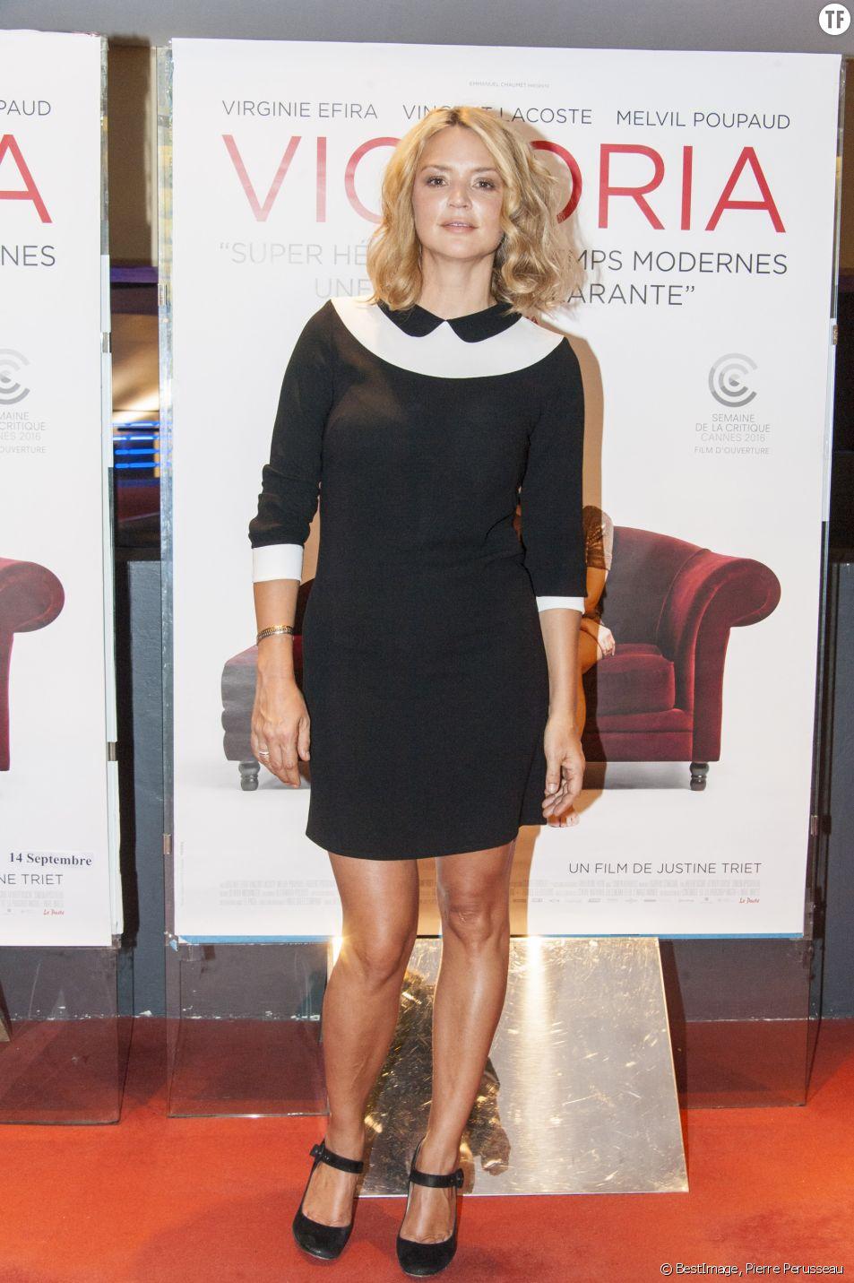 L'actrice Virginie Efira