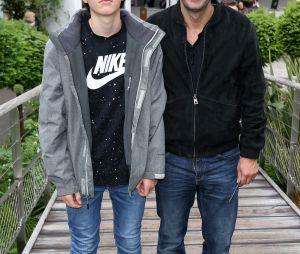 Cyrille Eldin et son fils aîné Camille