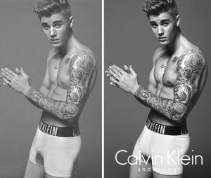 Photoshop : les photos retouchées de Justin Bieber pour la pub Calvin Klein ont fait scandale